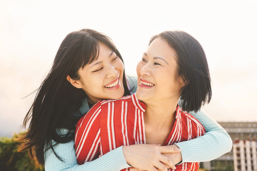 Japanese-mother-daughter