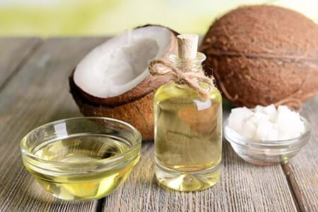 coconut oil liquid form and solid form