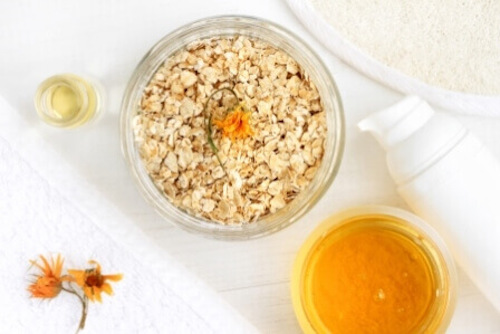 Simple ingredients for good skin care