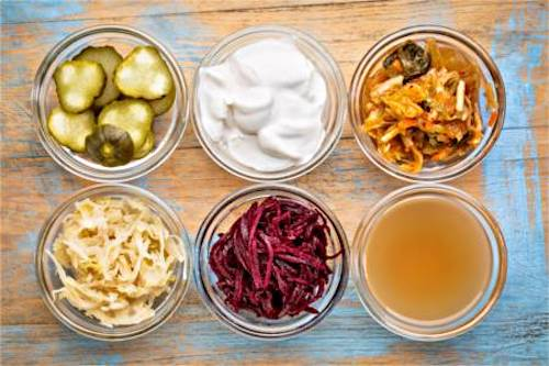 For a health diet include more foods rich in probiotics