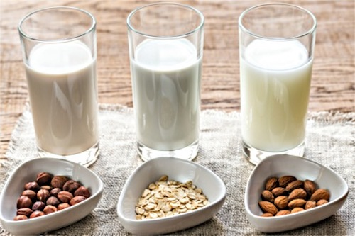 Going dairy free is easy with substitutions like nut-free milks.