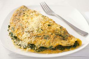 to prevent hot flashes an omelet filled with broccoli makes the perfect snack