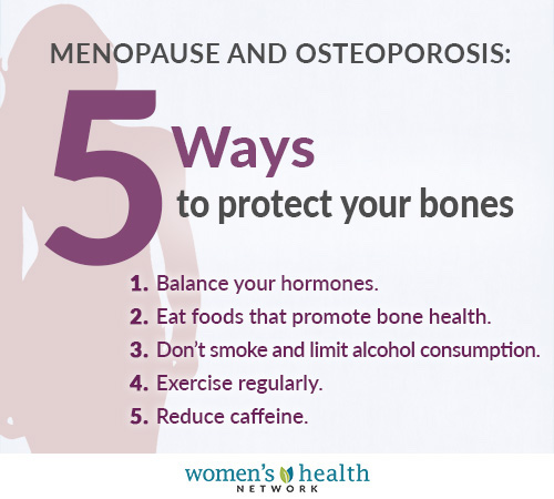 5 ways to protect your bones include eating foods that protect bone health and getting regular exercise.