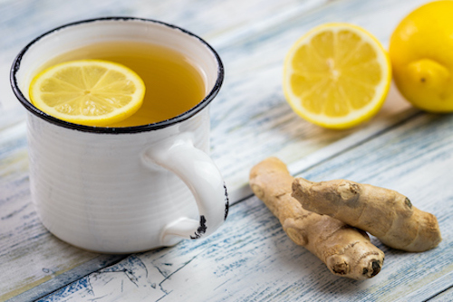 Ginger in anti-inflammatory which helps bone health.