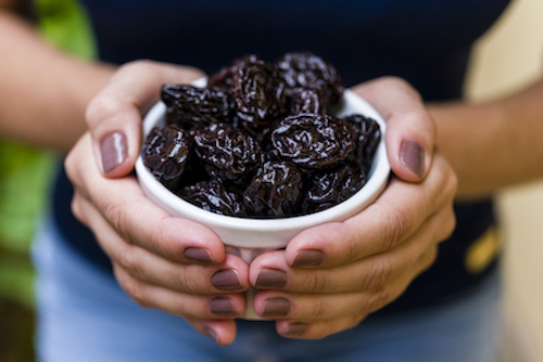 Prunes are one of many foods to strengthen bones.