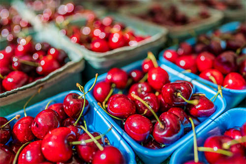 Cherries are one of many superfoods for hormonal balance
