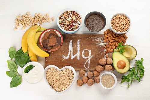 Women use magnesium as a natural menopause supplement.